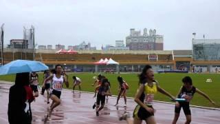 100年全國小學田徑錦標賽女子400m接力決賽.MTS
