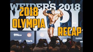2018 Classic Physique Olympia RECAP - Wesley Vissers