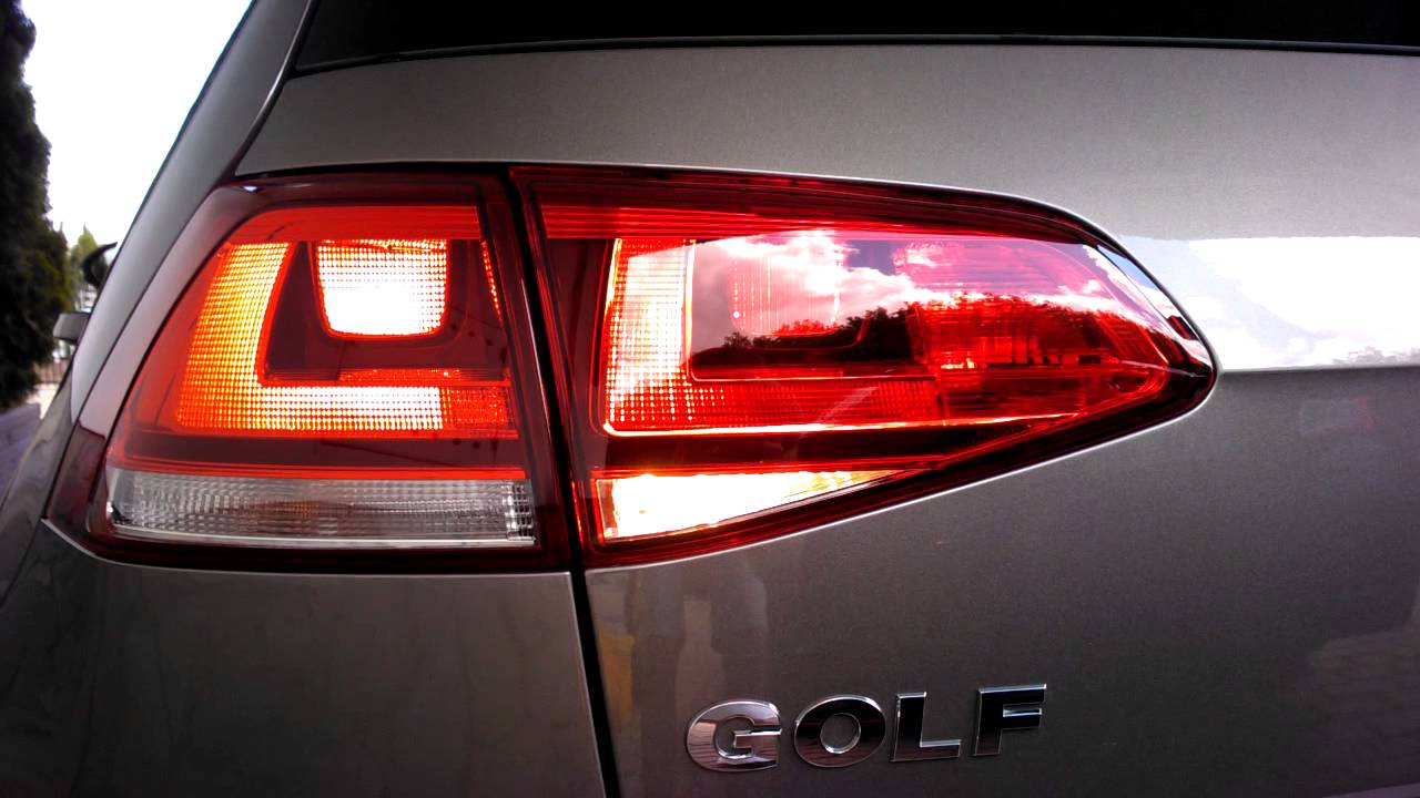 Volkswagen Golf Vii 1 4 Tsi 122 Bhp Non Led Rear Lights