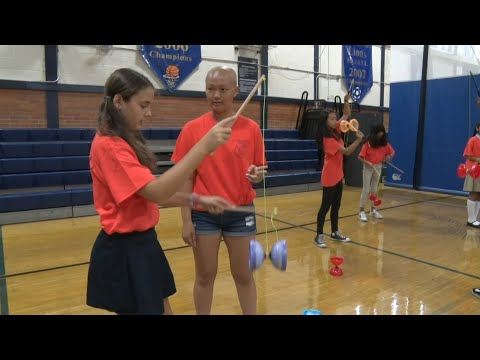 Freehold students learn how to master the Chinese yo-yo