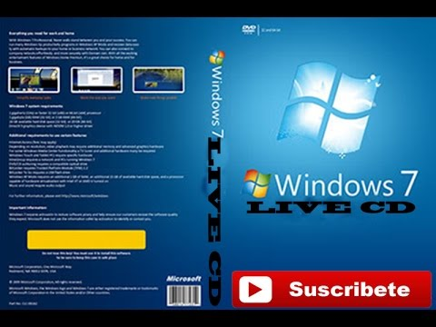DESCARGAR WINDOWS 7 LIVE CD ESPAÑOL(MEGA)