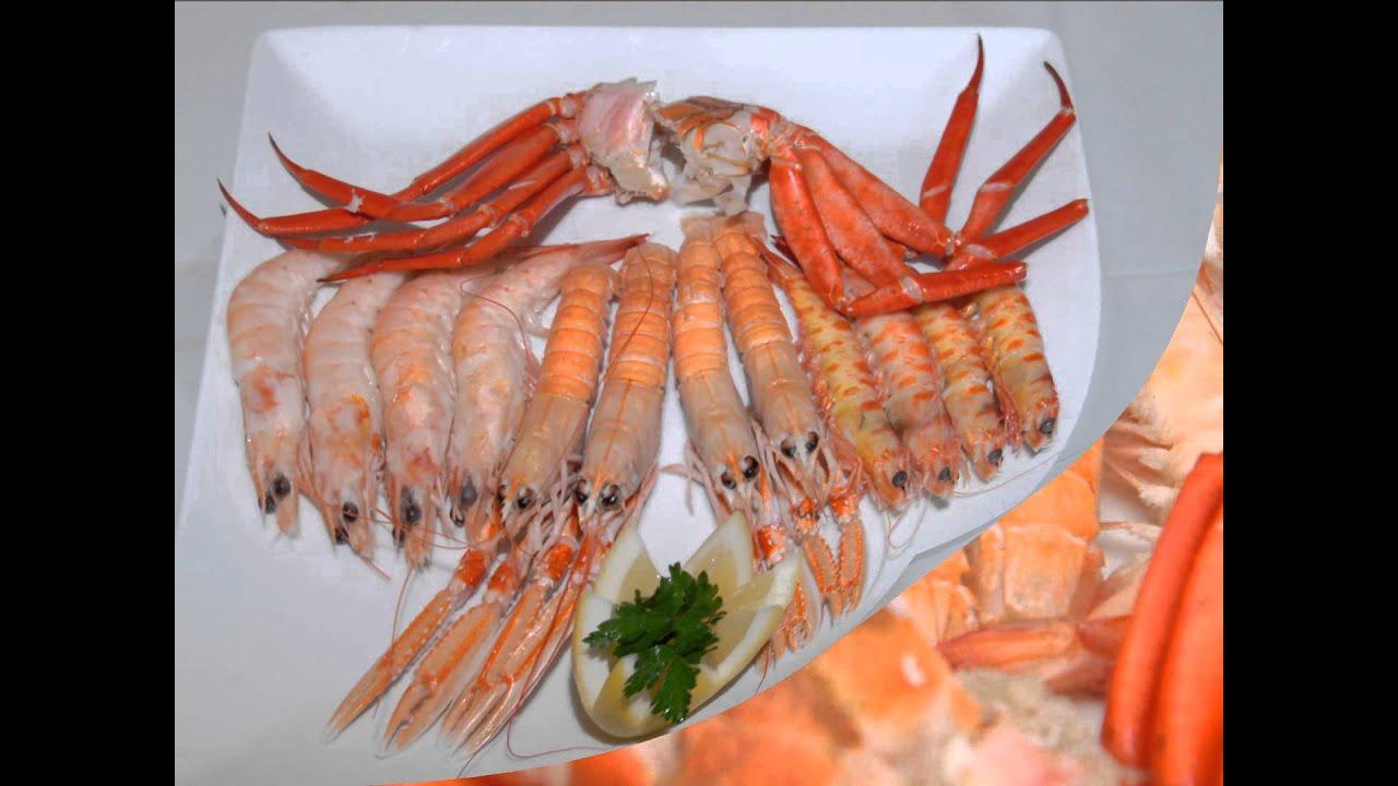 Emplatado de marisco y youtube for Canelones de pescado y marisco