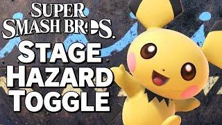 Super Smash Bros. Ultimate - STAGE HAZARD TOGGLE CONFIRMED! – Aaronitmar