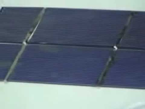 How easy is it to make solar panels? This artfilm shows how.