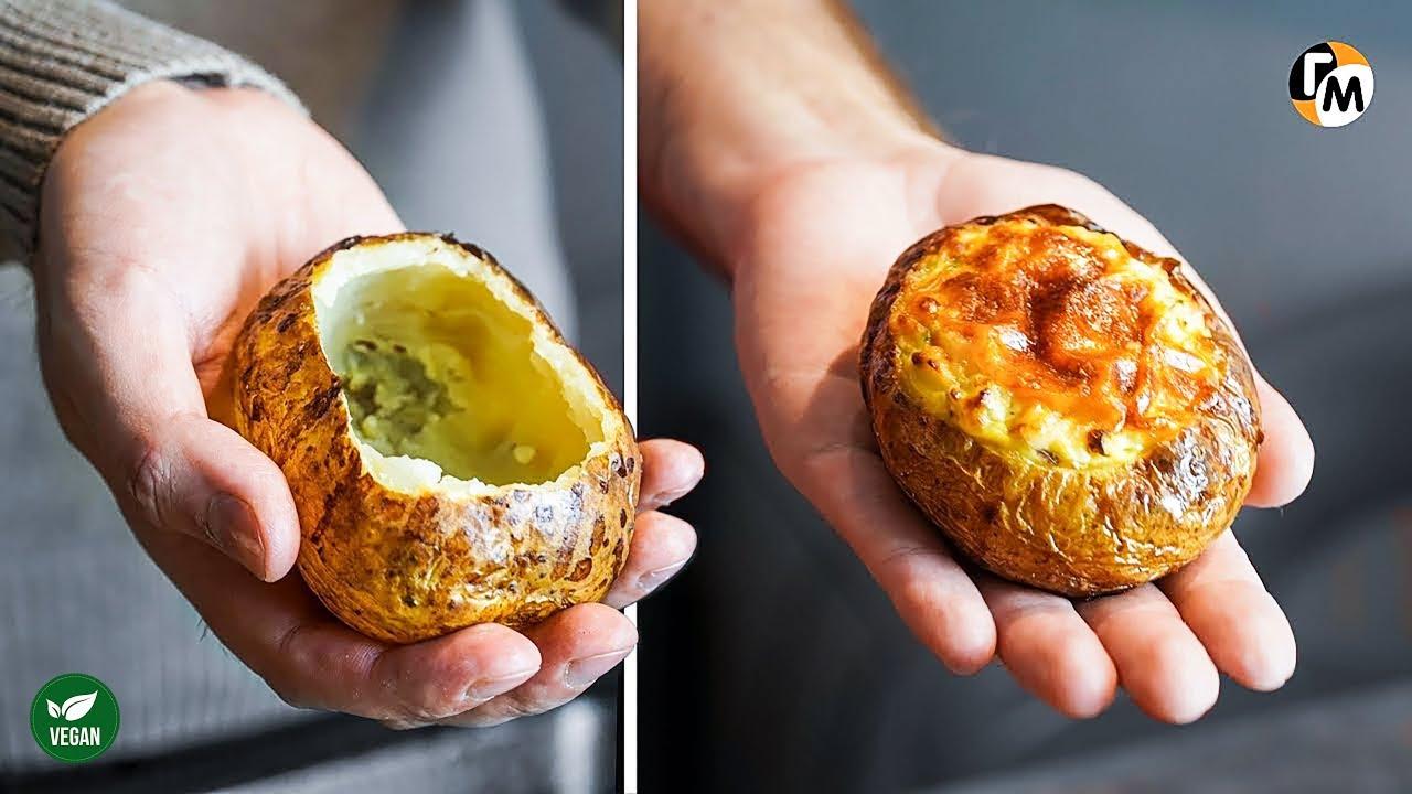 Картошка в духовке на Новый Год 2020! Новое блюдо из картошки — Голодный Мужчина (ГМ, #220)