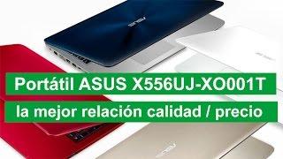 Portátil asus x556uj xo001t el portátil i7 más vendido en Amazon