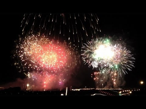 Itabashi/Todabashi Fireworks Festival 2012, Tokyo-Saitama [iPhone 4S/HD]