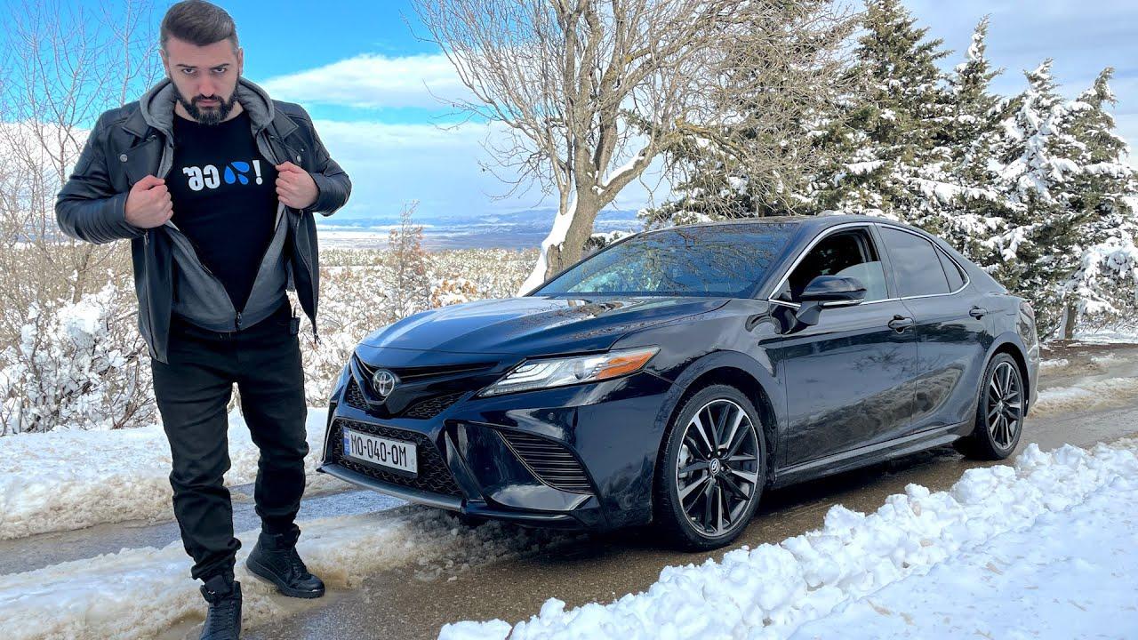 უტდ – Toyota Camry 2018 – ფანრიანი ნოკია!