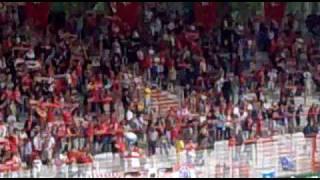 eisern union gegen babelsberg einmarsch 19.07.2009