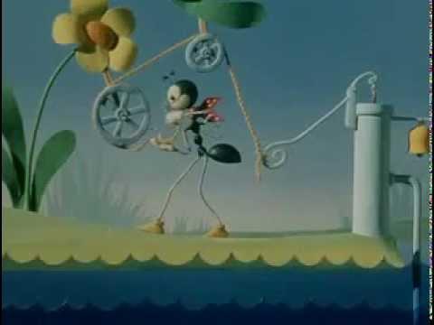 افلام كارتون روسي قديم جدا النملة الذكية