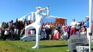 2013 PGA show demo day - Ian Poulter & Cobra/Puma players' trick shots!