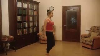 Малахова Елена, танец похожий на контемп 1, тренировка дома