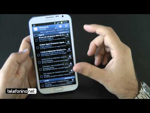 Samsung Galaxy Note 2 videoreview da Telefonino.net