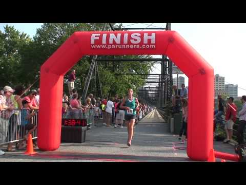 Harrisburg Half Marathon Finish {Part 1}