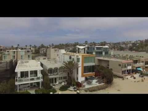 Playa del Rey, California (HD)--Pacific Ocean, Small Lake and Beach Drone Footage (Los Angeles)
