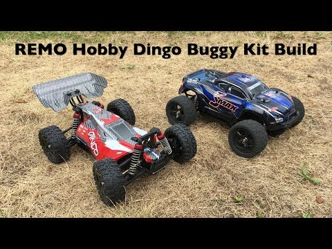 Banggood REMO Hobby Dingo Buggy Kit Build