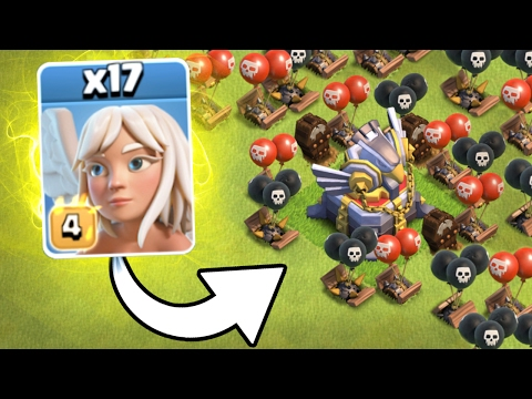 NEW EVENT TROLLING!! 💥 17 MAX HEALERS vs EAGLE ARTILLERY💥 Clash Of Clans