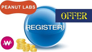 Registration Offer - Peanut Labs   Paid Instantly [WowApp]