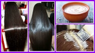 GET SHINY HAIR,SILKY HAIR, SOFT HAIR ,SMOOTH HAIR NATURALLY | PROTEIN TREATMENT AT HOME~HAIR MASK