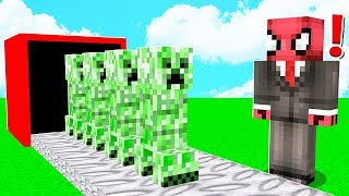 CREEPER FABRİKASI YAPTIM! 😱 - Minecraft