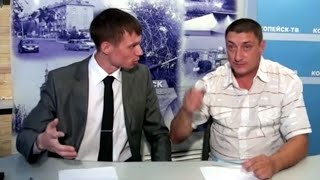 Александр Макогон - Копейское ТВ (дебаты с оппонентом)