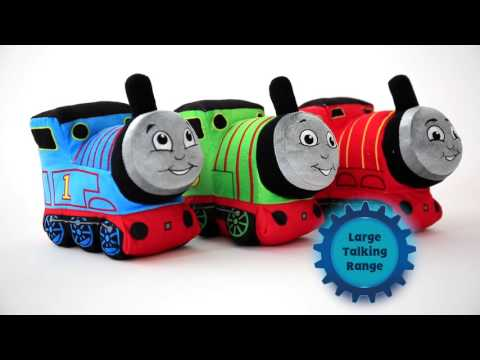 Thomas & Friends Large Talking Soft Toys & Glowing Musical Thomas Soft Toy