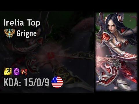 Irelia Top vs Darius - Grigne - NA Challenger Patch 6.14 ...  Irelia Top vs D...