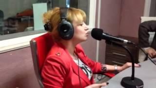 Ангелина Каплан на первом радио