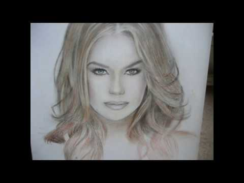 Мои портреты Рисую  на заказ по фото.