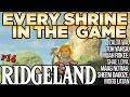 Every Shrine in Ridgeland Tower - Mogg Latan,  Shae Loya,  Zalta Wa & More! - Breath of the Wild