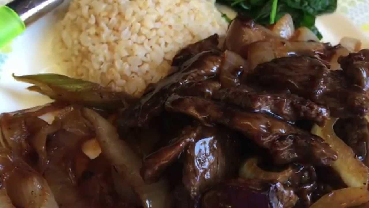 Hawaiian Chopped Steak, a Virtual Culinary Adventure