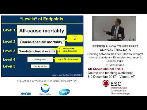 How to interpret clinical trial data – Examples from recent clinical trials