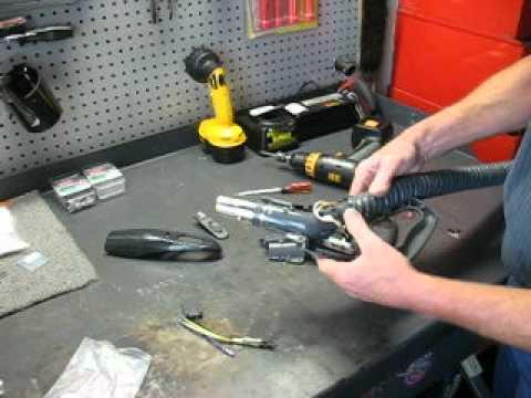 Kenmore Progressive Canister Vacuum Cleaner repair on