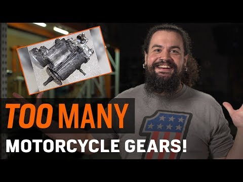 Your motorcycle has TOO MANY gears!