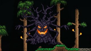 Terraria Halloween Event - Pumpkin Moon