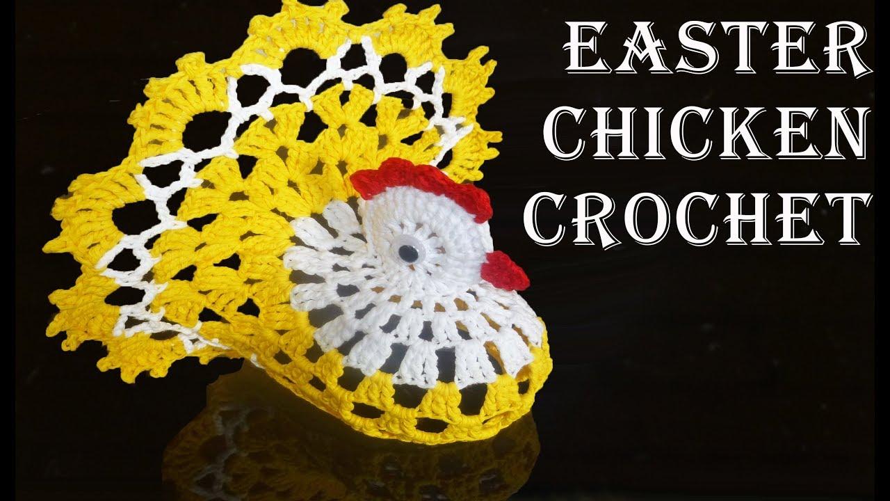 Kostenlose Anleitung Ostern Huhn Zweifarbig Häkeln Teil I Ideen