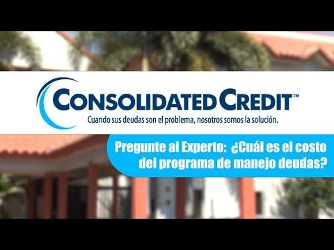 ¿Cuál es el costo del programa de manejo de deudas?