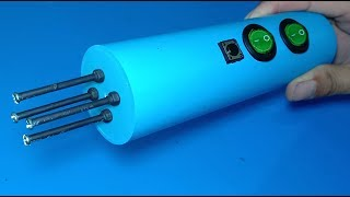 How to make a powerful Stun gun ,  DIY 400KV stun gun