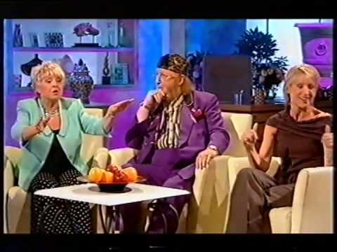 John McCririck being thrown off the Alan Titchmarsh Show, 2007