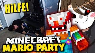 GERMANLETSPLAY IST EIN KILLERCLOWN! ✪ Minecraft Mario Party mit GLP