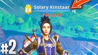 TROLL, I'm BEING for SOLARY KINSTAAR on Fortnite (Epic Reaction)! #2