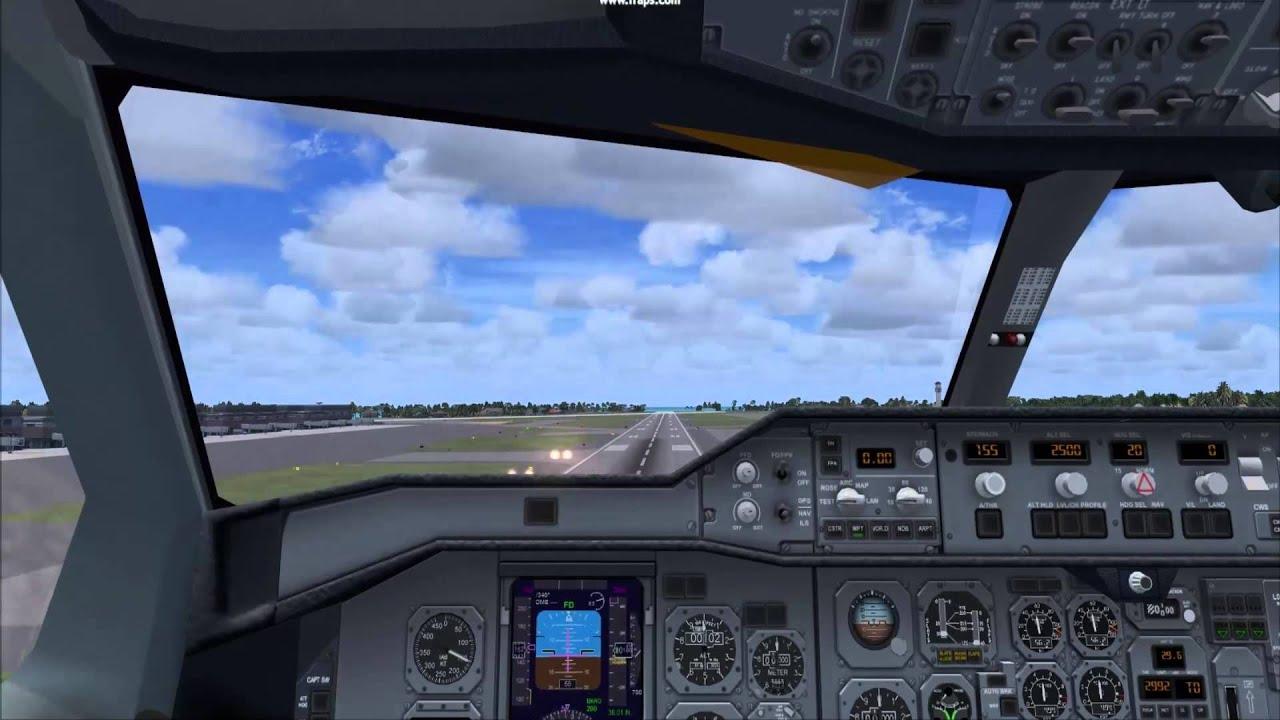 CLS Aeroflot 767-300 (One World) - Landing in Kahului (FSX)