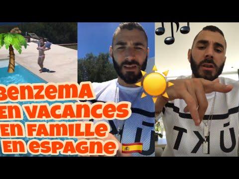 benzema en vacances en famille ibiza youtube. Black Bedroom Furniture Sets. Home Design Ideas