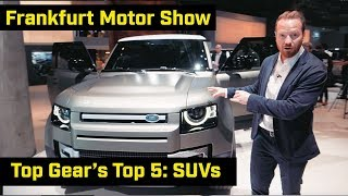 Top Gear's Top 5: SUVs from Frankfurt