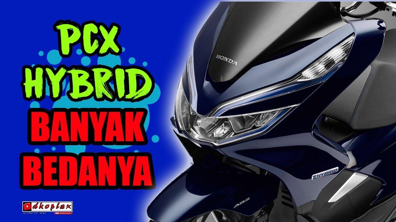 Wajib Tau Intip Perbedaan Antara Honda Pcx 150 Abs Cbs Dengan Pcx Hybrid Youtube
