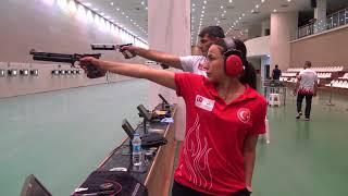 Havalı ve Ateşli Silahlar Milli Takımımız Olimpiyat Kotası için Güney Kore'de