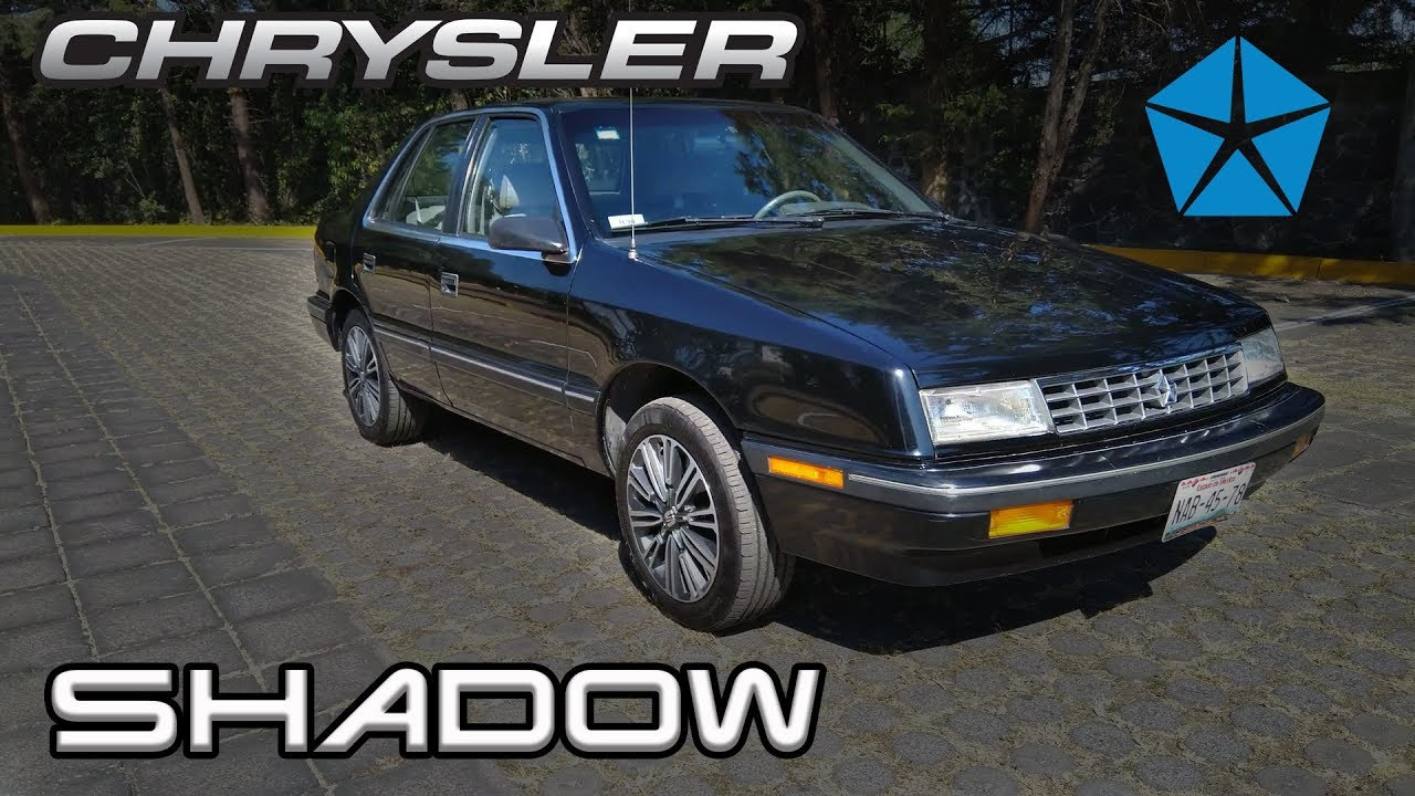 Chrysler Shadow Tipico 1990 - Reseña