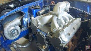 Edelbrock LS Cast Aluminum EFI Intake + Elbow (Looks SWEET!)   S475 Turbo 5.3 Project Sonicstang