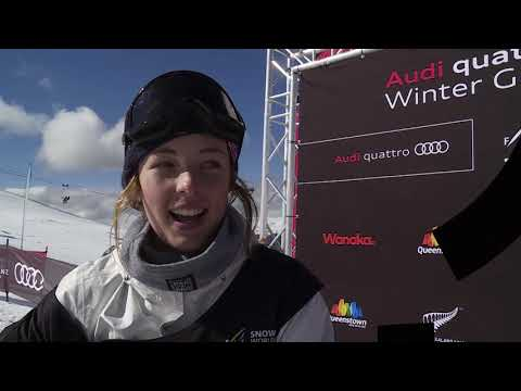 Winter Games NZ 2018 Ep5 Junior Snowboard Slopestyle World Champs