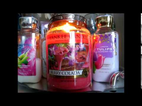 Yankee Candle Review: Berry Colada - YouTube